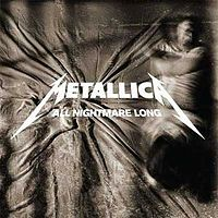 Обложка сингла «All Nightmare Long» (Metallica, 2008)