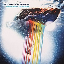 Обложка сингла Red Hot Chili Peppers «Monarchy of Roses» (2011)