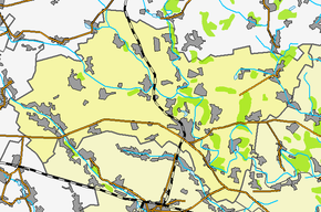 Пирятин на карте