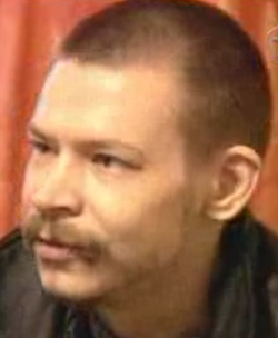 Alexander Spesivtsev during interrogation