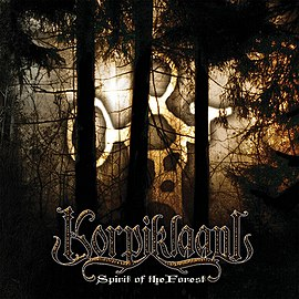 Обложка альбома Korpiklaani «Spirit of the Forest» (2003)