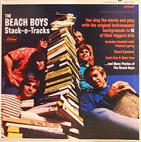 Обложка альбома The Beach Boys «Stack-O-Tracks» (1968)