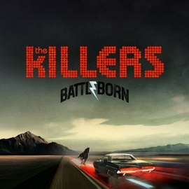 Обложка альбома The Killers «Battle Born» (2012)