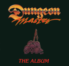 Обложка альбома к Dungeon Master и Dungeon Master: Chaos Strikes Back «Dungeon Master The Album» ()
