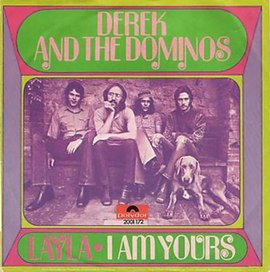 Обложка сингла Derek and the Dominos «Layla» (1971)