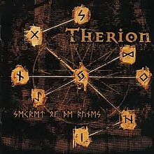 Обложка альбома Therion «Secret of the Runes» (2001)