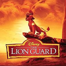 Обложка альбома Бо Блэк «The Lion Guard (Music from the TV Series)» (2016)