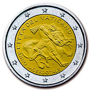 €2 Commemorative coin Vatican 2010.jpg