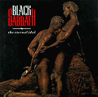 Обложка альбома Black Sabbath «The Eternal Idol» (1987)
