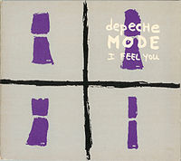 Обложка сингла «I Feel You» (Depeche Mode, 1993)