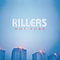 Обложка альбома The Killers «Hot Fuss» (2004)