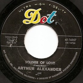 Обложка сингла Артура Александера «Soldier of Love (Lay Down Your Arms)» ()