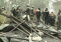Дом 6/3 на Каширском шоссе утром 13 сентября 1999 года