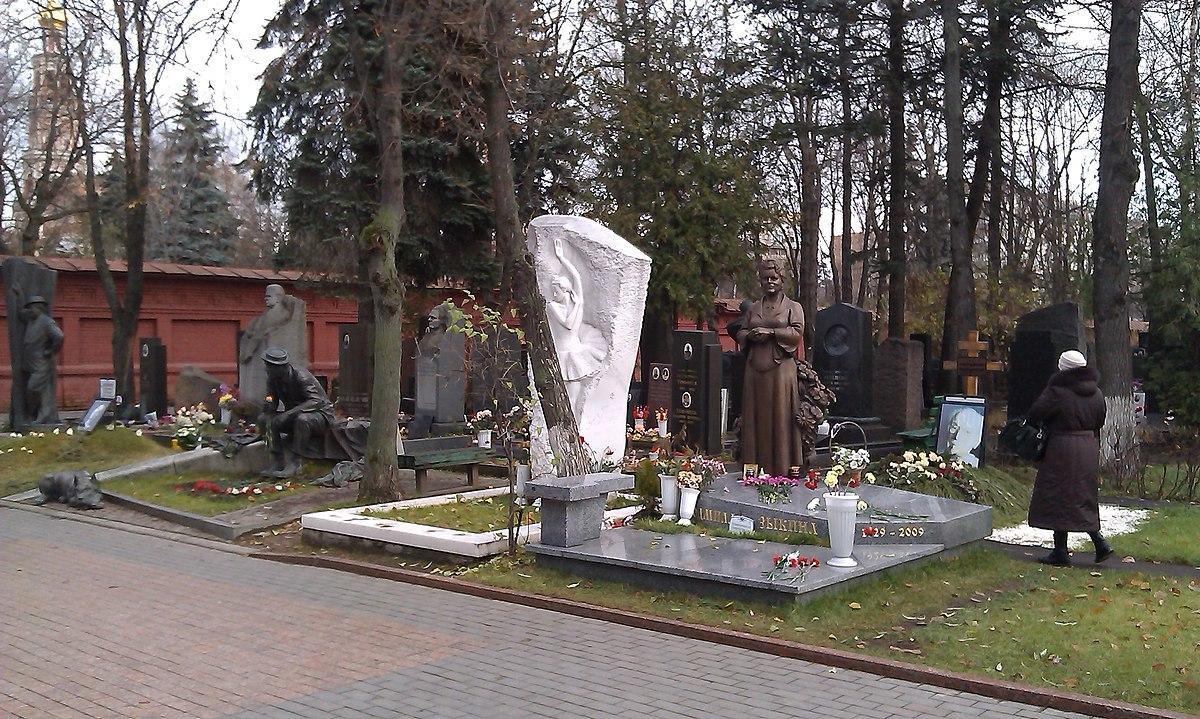 Новодеви��е кладби�е � Википедия
