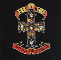 Обложка альбома Guns N' Roses «Appetite for Destruction» (1987)