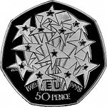 1998 EU Commemorative 50p coin