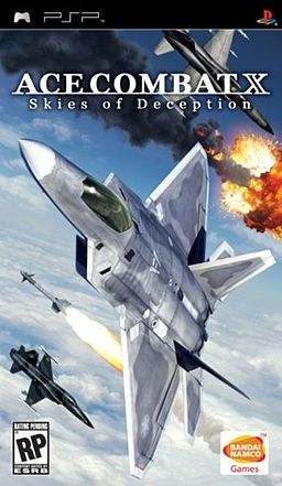 Ace Combat X Box Art