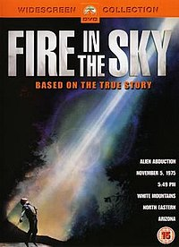 Fire in the sky dvd cover