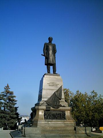 Памятник П.С.Нахимову в Севастополе