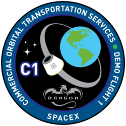 SpaceX Dragon COTS Demo 1 logo.png