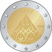 €2 commemorative coins Finland 2009.jpg