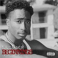 Обложка альбома 2Pac «Beginnings: The Lost Tapes» (2007)