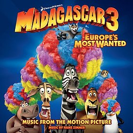 Обложка альбома «Madagascar 3: Europe's Most Wanted» (2012)