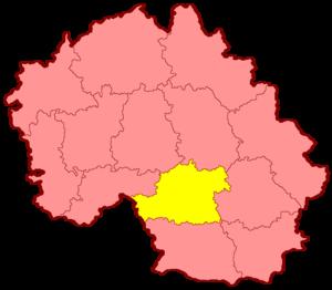 Уезды Московской губернии