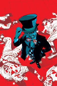 Безумный Шляпник в комиксе Gotham Central. Художник Майкл Ларк