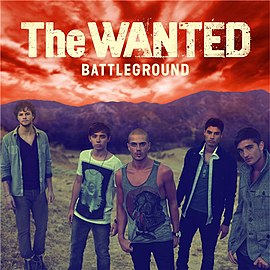 Обложка альбома The Wanted «Battleground» (2011)