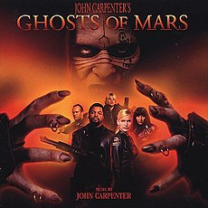 Обложка альбома  «John Carpenter's Ghosts of Mars (film soundtrack)» ()