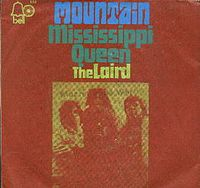 Обложка сингла «Mississippi Queen» (Mountain, 1970)