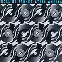 Обложка альбома The Rolling Stones «Steel Wheels» (1989)