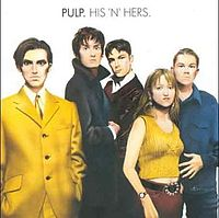 Обложка альбома Pulp «His 'n' Hers» (1994)