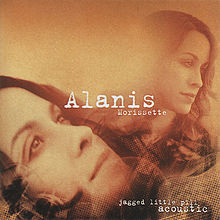 Обложка альбома Alanis Morissette «Jagged Little Pill Acoustic» (2005)