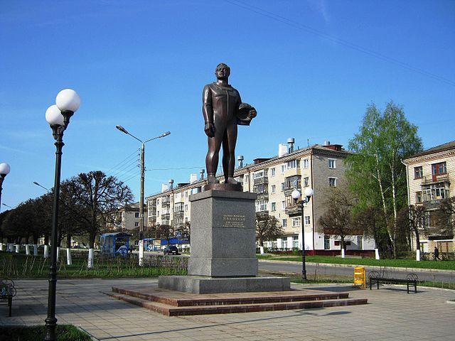 Памятник А.Г.Николаеву в Чебоксарах. Открыт 5 сентября 2011 года в честь 82-летия со дня его рождения.