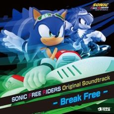 Обложка альбома  «Sonic Free Riders Original Soundtrack: Break Free» (2010)