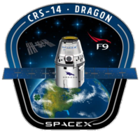 SpaceX CRS-14 patch.png