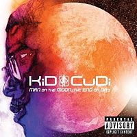 Обложка альбома KiD CuDi «Man on The Moon: The End Of Day» (2009)