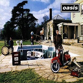 Обложка альбома Oasis «Be Here Now» (1997)