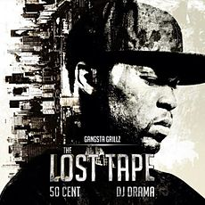 Обложка альбома 50 Cent «The Lost Tape» (2012)
