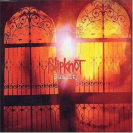 Обложка сингла Slipknot «Duality» (2004)