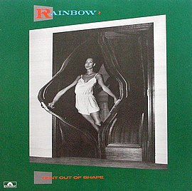 Обложка альбома Rainbow «Bent out of Shape» (1983)
