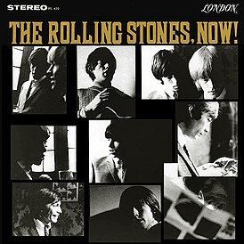 Обложка альбома The Rolling Stones «The Rolling Stones, Now!» (1965)