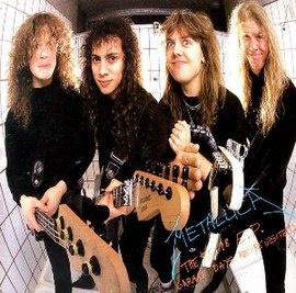 Обложка альбома Metallica «The $5.98 E.P.: Garage Days Re-Revisited» (1987)