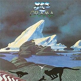 Обложка альбома Yes «Drama» (1980)