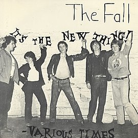 Обложка сингла The Fall «It's The New Thing» (1978)