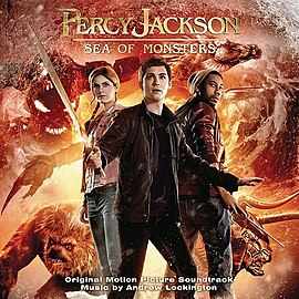 Обложка альбома «Percy Jackson: Sea of Monsters (Original Motion Picture Soundtrack)» ()