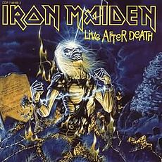 Обложка альбома Iron Maiden «Live After Death» (1984)