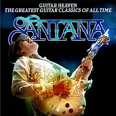 Обложка альбома Santana «Carlos Santana - Guitar Heaven: The Greatest Guitar Classics of All Time» (2010)